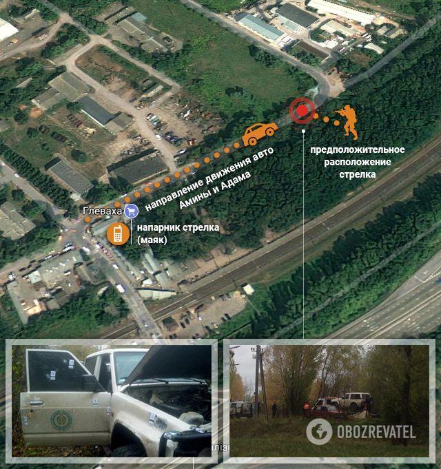 Как убили Окуеву: опубликована схема места преступления