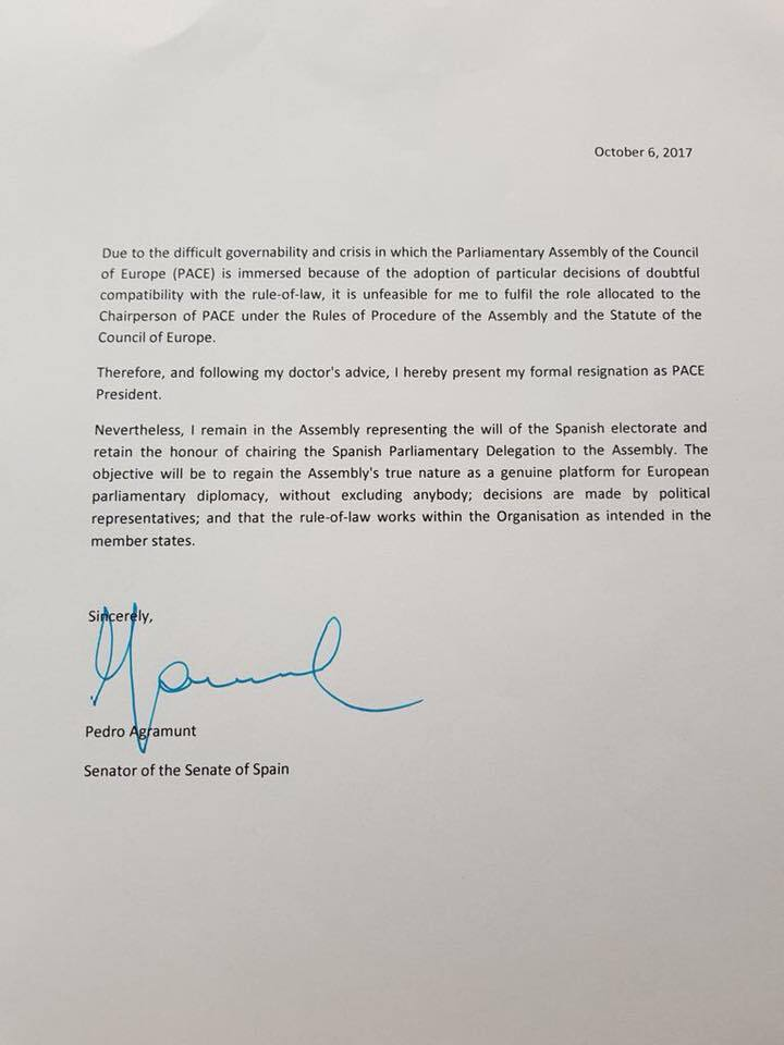 Стараннями України: проросійський глава ПАРЄ пішов у відставку