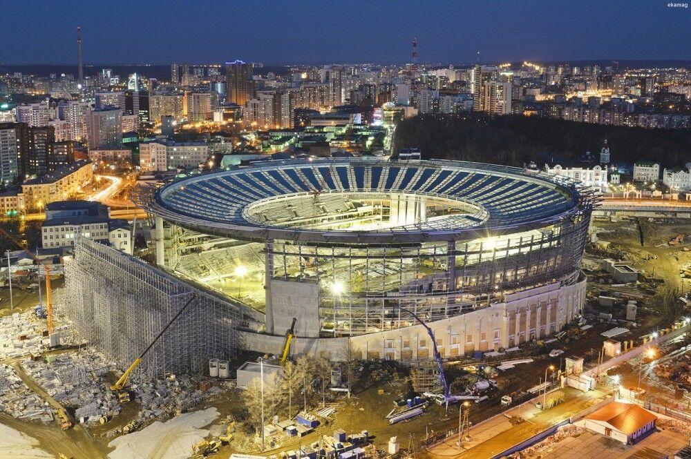 Английское печатное издание назвало «Екатеринбург Арену» «чокнутым» стадионом Российской Федерации