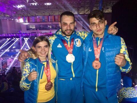 Украина взяла три медали на ЧМ по ММА в Астане