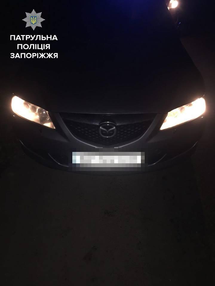 В Запорожье автомобиль Mazda угнали через день после покупки