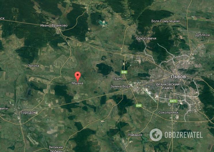 ДТП произошло рядом с селом Мшана