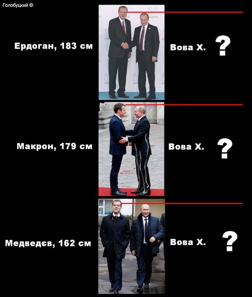 """Цирк із ходулями: у мережі показали """"еволюцію"""" Путіна"""