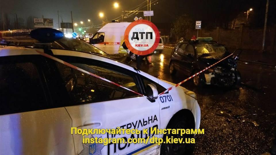 Чиновник МВД устроил смертельное ДТП в Киеве