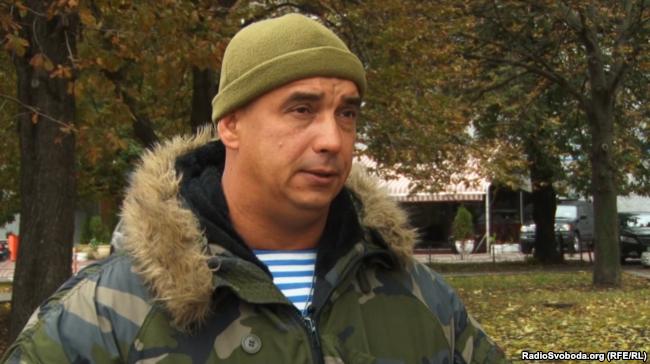 Десантник Александр Литвин