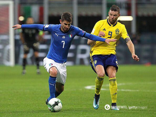 Вперше за 60 років. Італія сенсаційно не потрапила на ЧС-2018