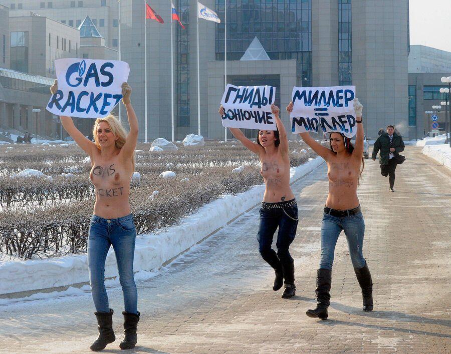 Никогда не было – и вот опять: зачем Femen встают грудью