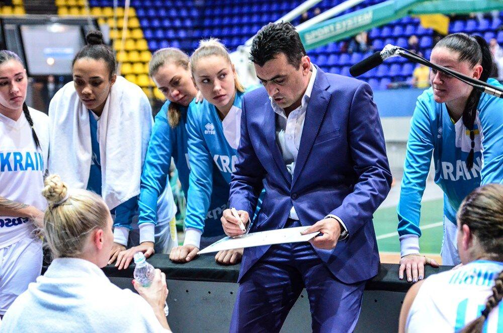 Отбор Евробаскета-2019. Украинки добыли фееричную победу в Киеве