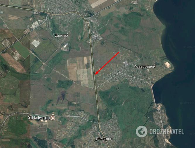 Авария произошла возле села Козаровичи