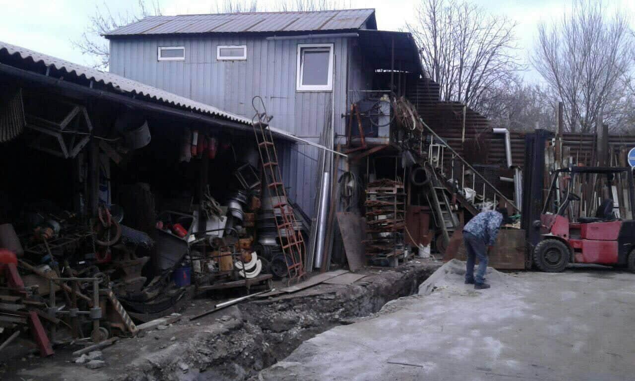 В Запорожье разоблачили пункт приёма ворованного кабеля (ФОТО)