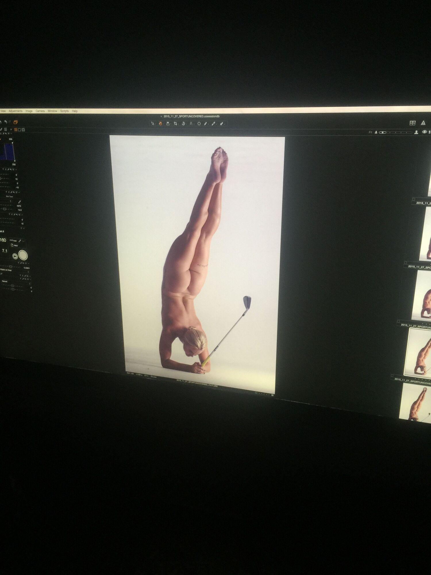 Воры украли у титулованной гольфистки интимные снимки и выложили их в интернет