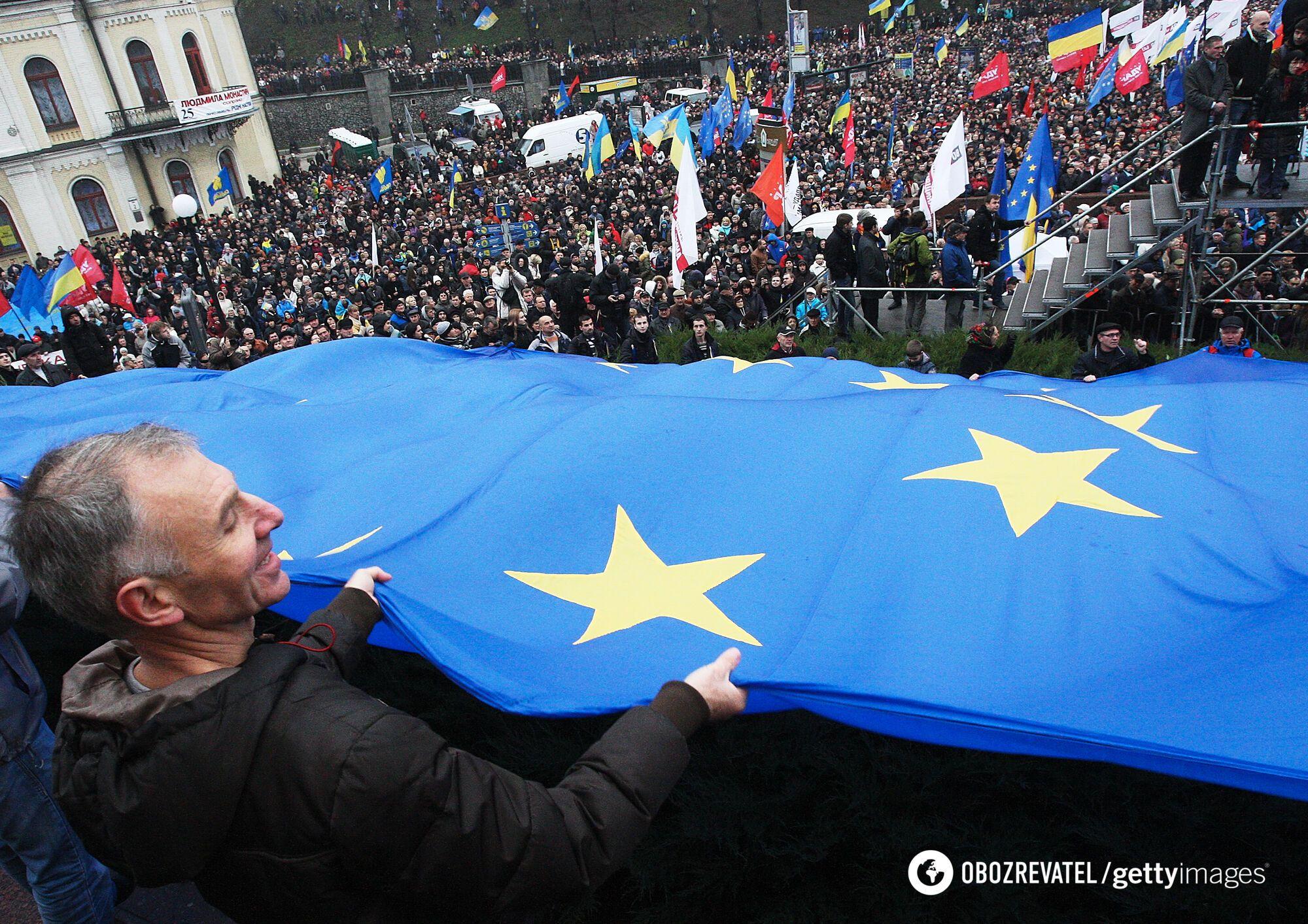 Четыре года спустя: как на Майдане создали новую Украину