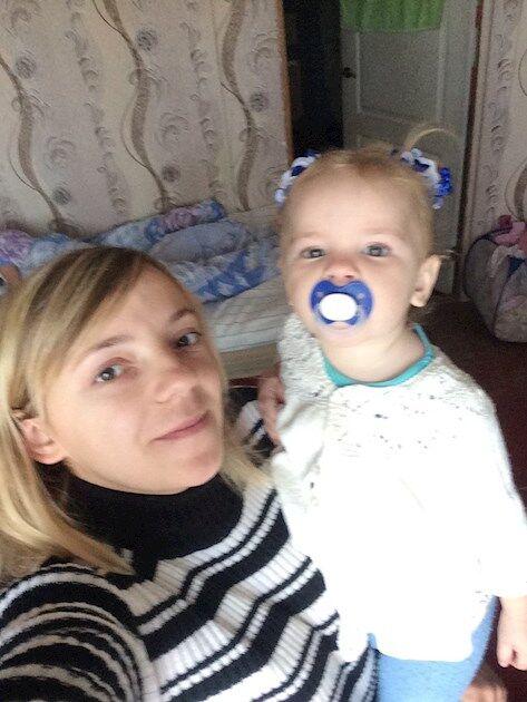 Татьяна с младшей дочерью Марьяной