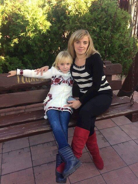 Татьяна со старшей дочерью Вероникой