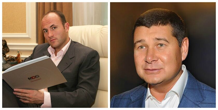 Павло Фукс та Олександр Онищенко