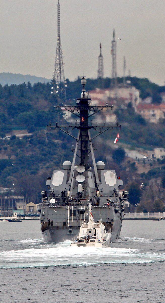 Вооружен до зубов: в Черное море зашел американский ракетный эсминец