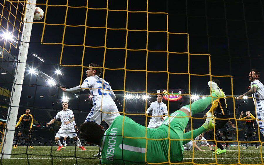 """""""Динамо"""" это сделало! Украина в 4-м туре Лиги Европы"""