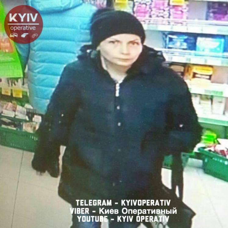 Внимание, розыск! В Киеве ушлая воровка попала на камеры
