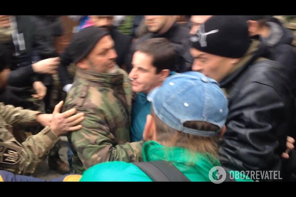 Нападение на Шкиряка: появились эксклюзивные фото и видео