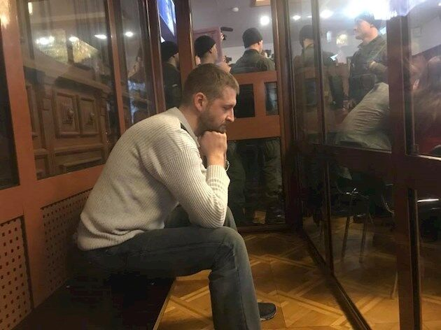 Сергей Колмогоров в зале суда