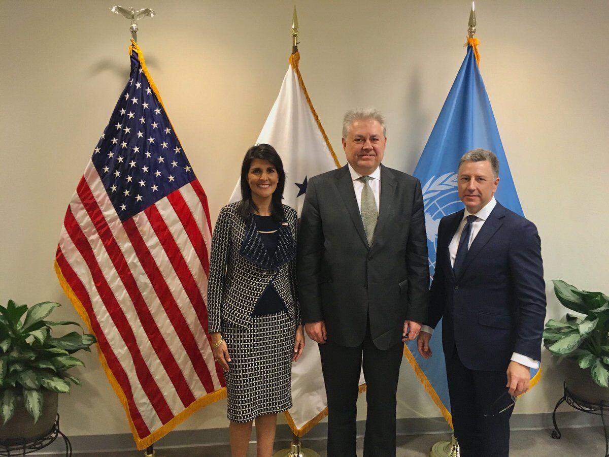 Україна провела переговори з людьми Трампа щодо миротворців на Донбасі