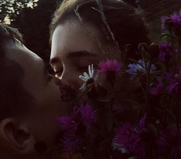 Ульяна Снитко с бойфрендом Егором