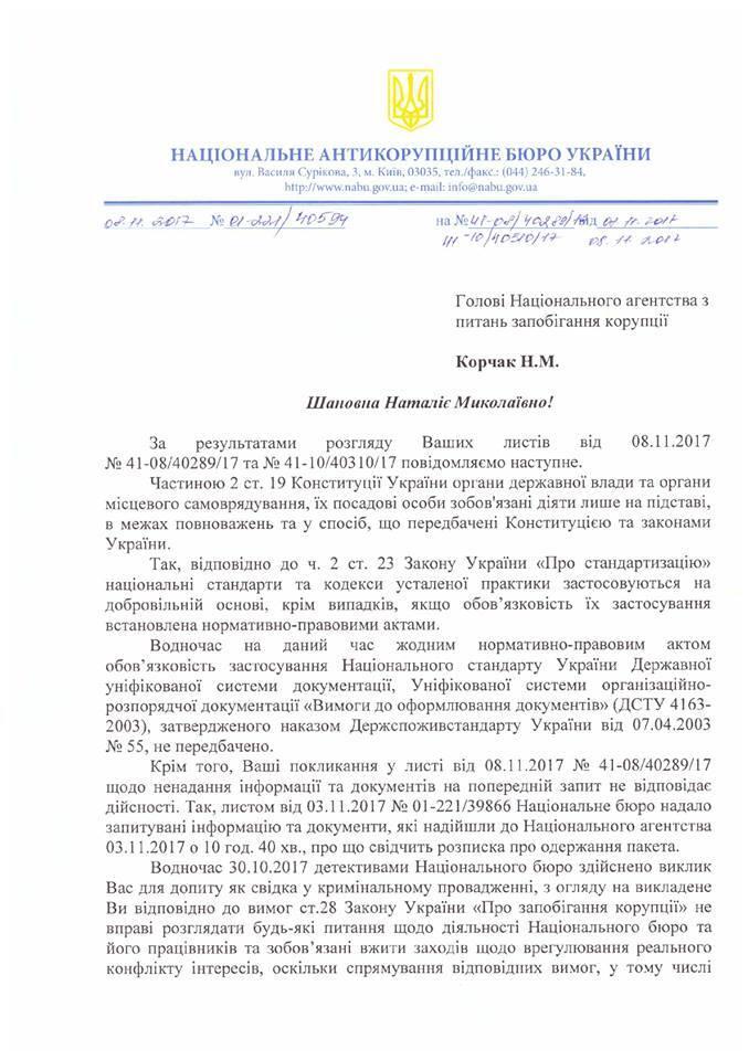 """""""Дело"""" Сытника: в НАБУ пошли на ответный шаг"""