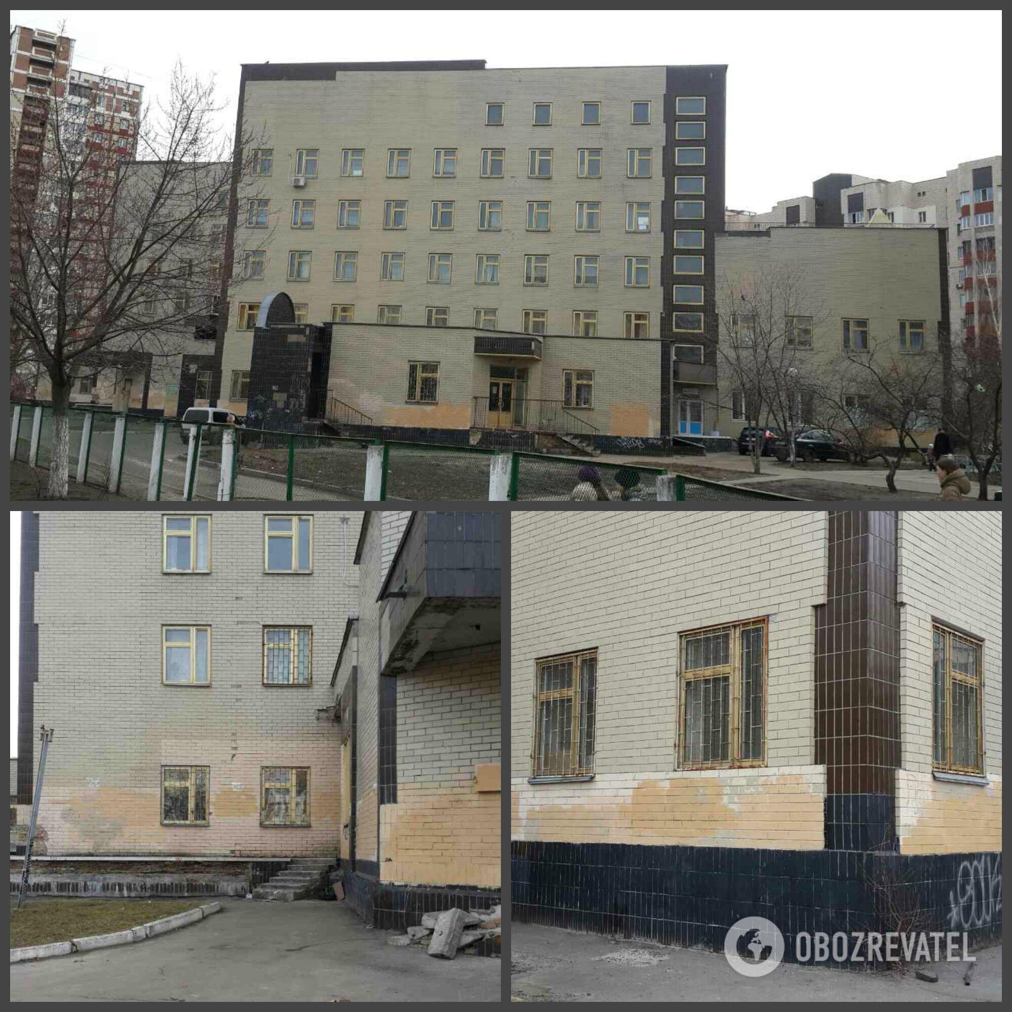 Окна в детской поликлинике Деснянского района