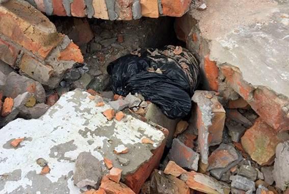 Тайник со взрывным устройством нашли 26 ноября в Днепропетровской области