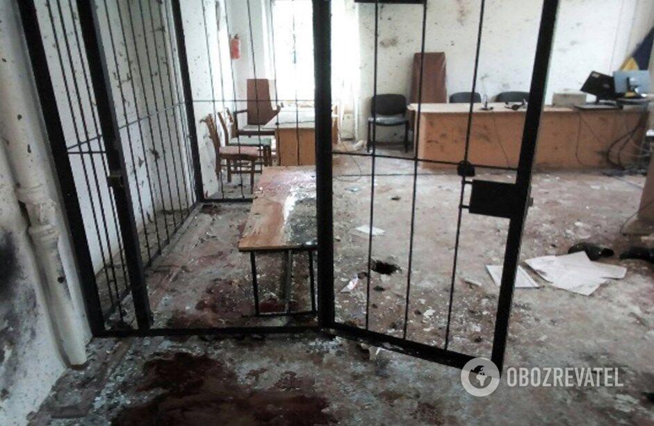 30 ноября 2017г - взрыв в суде Никополя