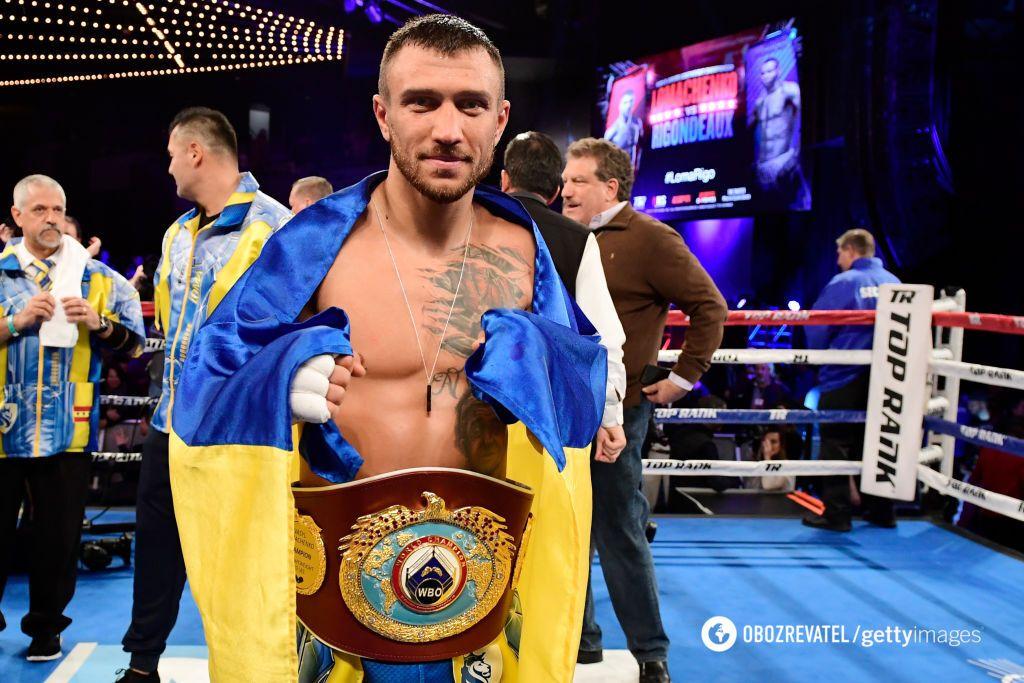 Ломаченко победил Ригондо в уникальном чемпионском бою