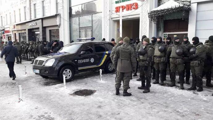 Саакашвили доставили в суд: все подробности