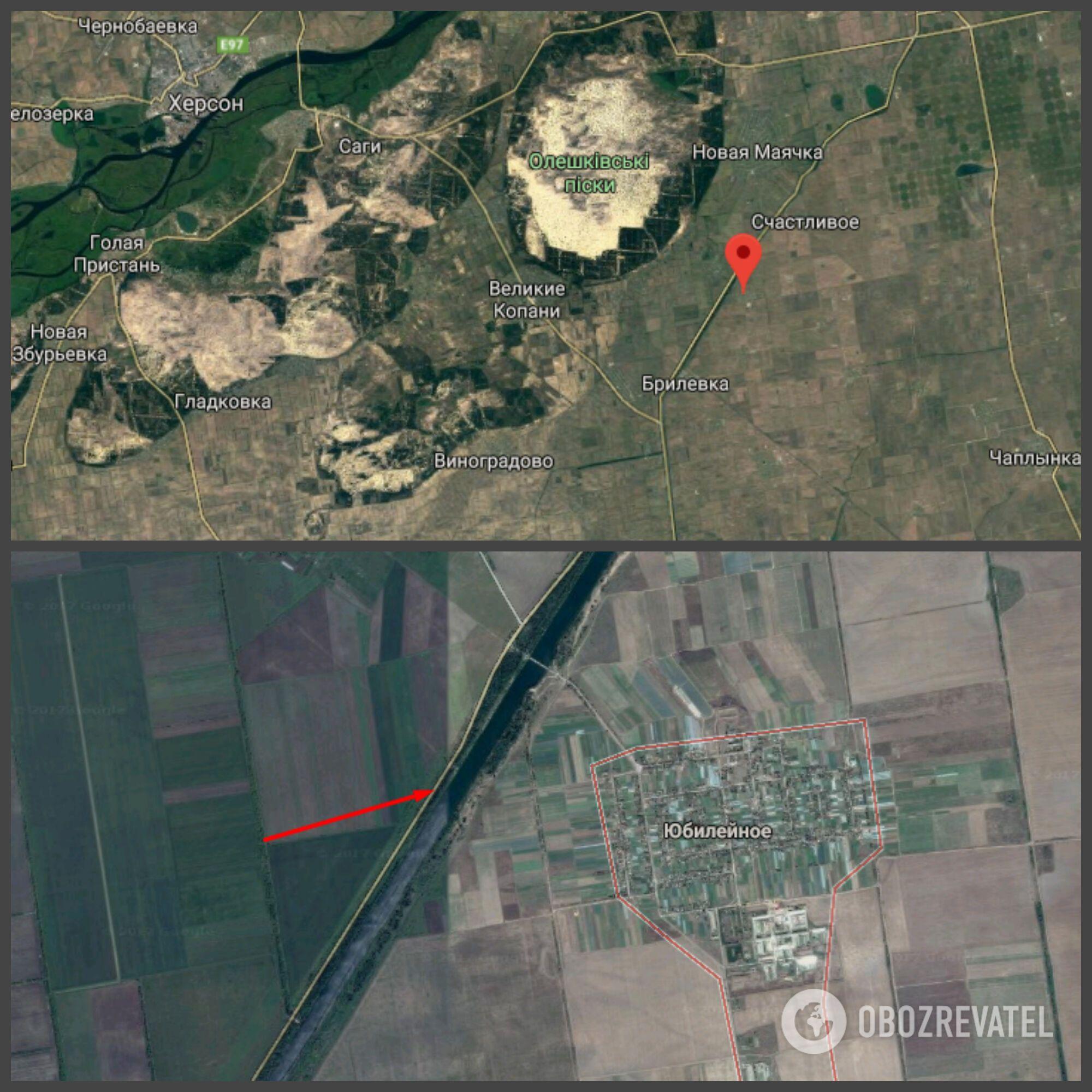ДТП произошло в селе Юбилейное