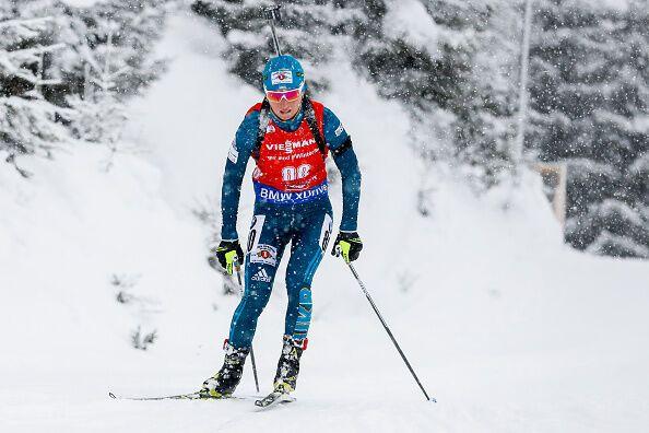 Семеренко завоевала медаль в спринте на 3-м этапе Кубка мира по биатлону
