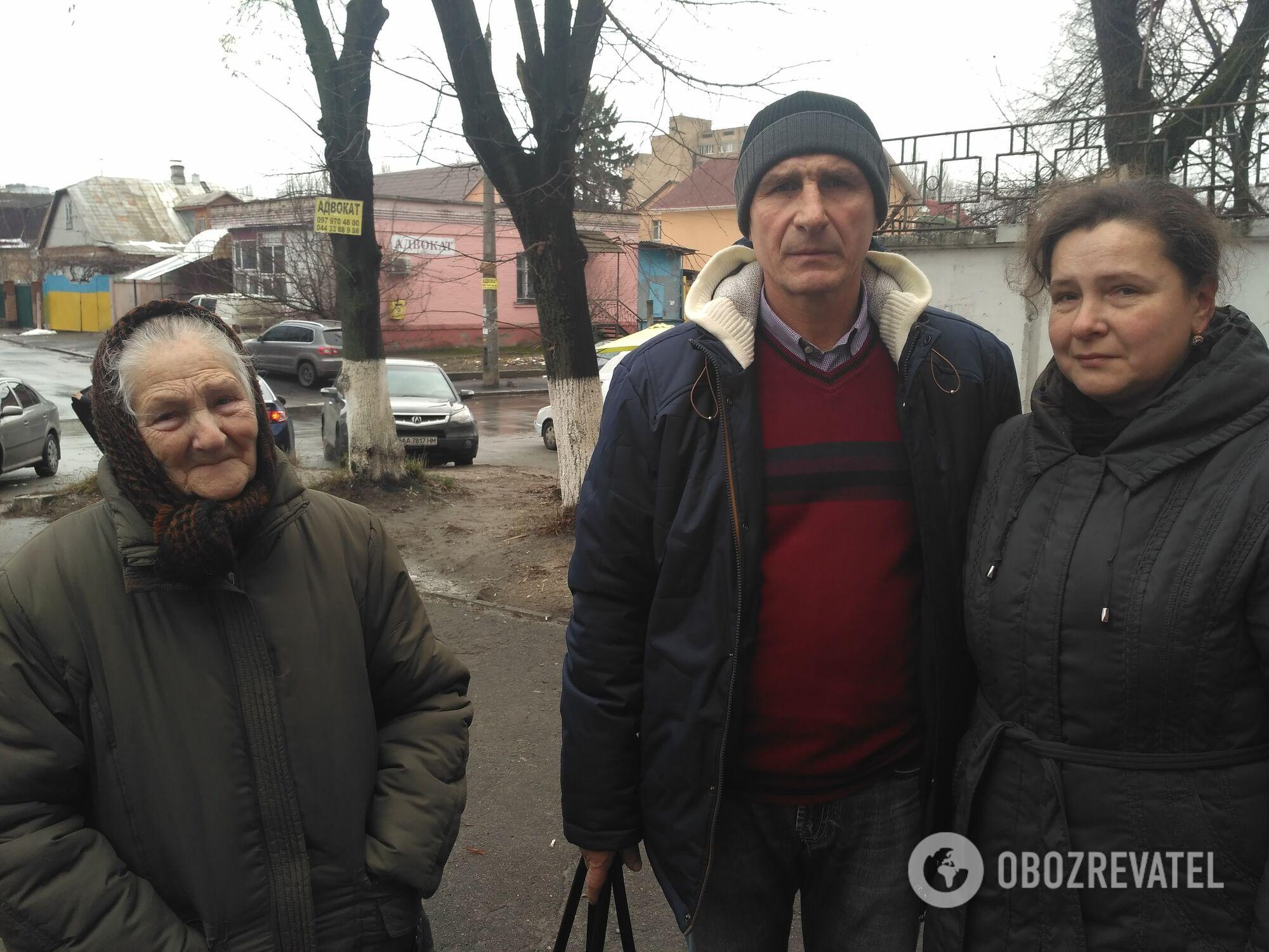 Родственники Ани Шевчук: бабушка, отец и мама