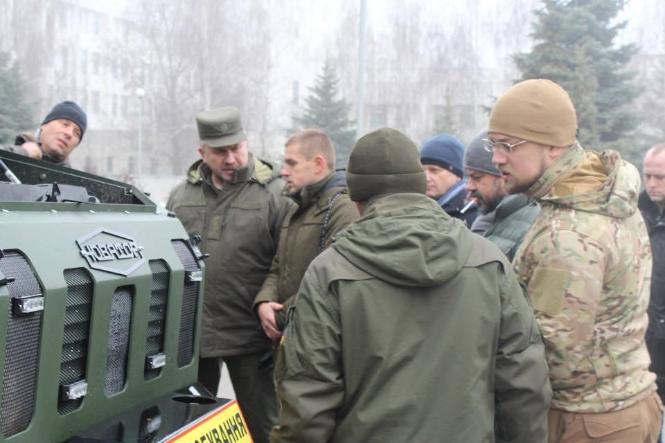 Смерть оккупантам: в Украине презентовали бронированное авто