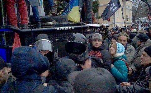 В центре Киева устроили протест: все подробности