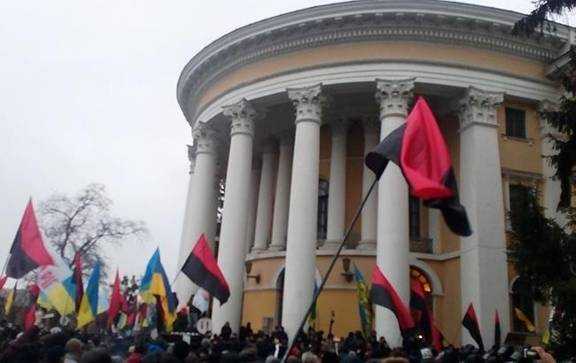 Сторонники Саакашвили штурмовали Октябрьский дворец: все подробности
