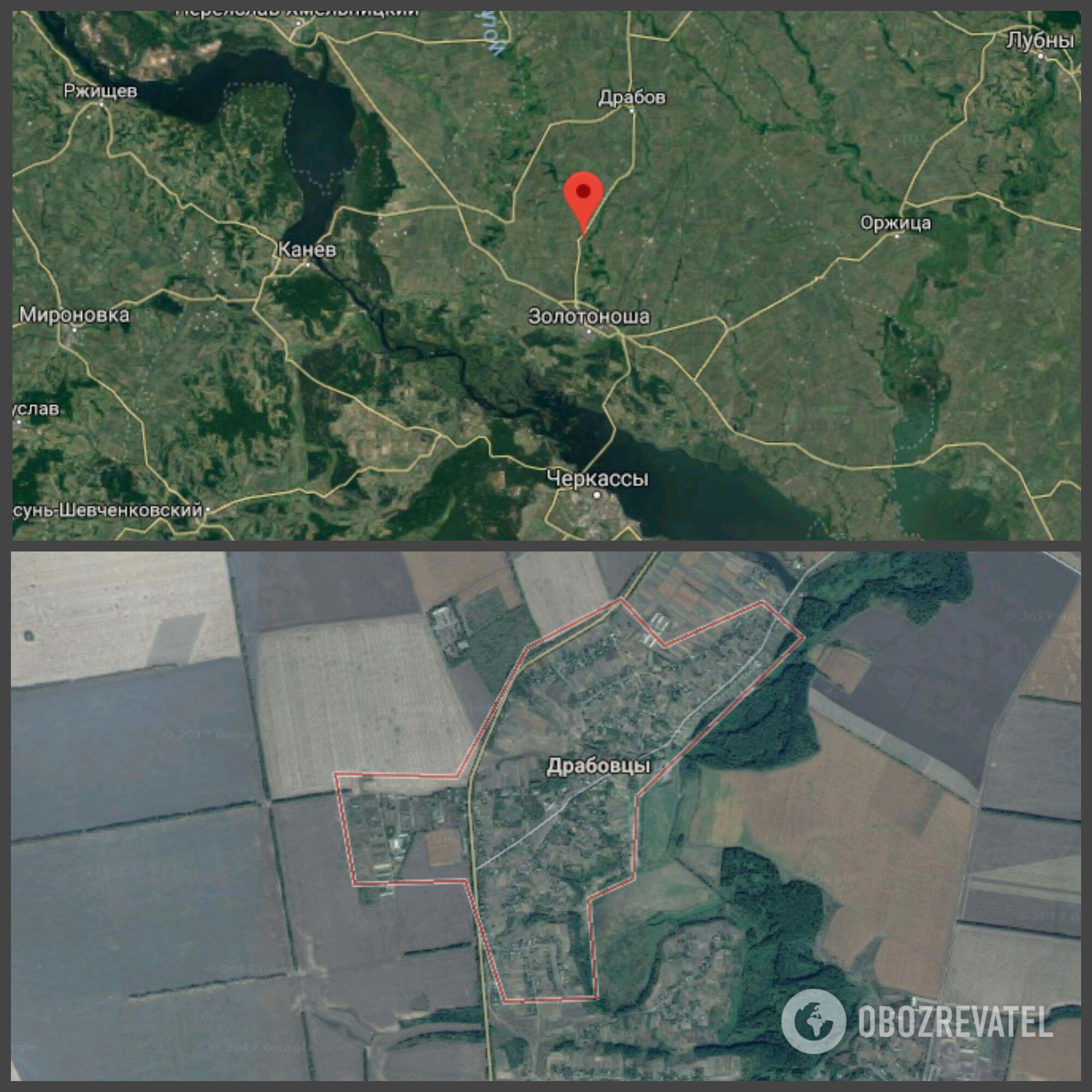 Пожежа сталася в селі Драбівці