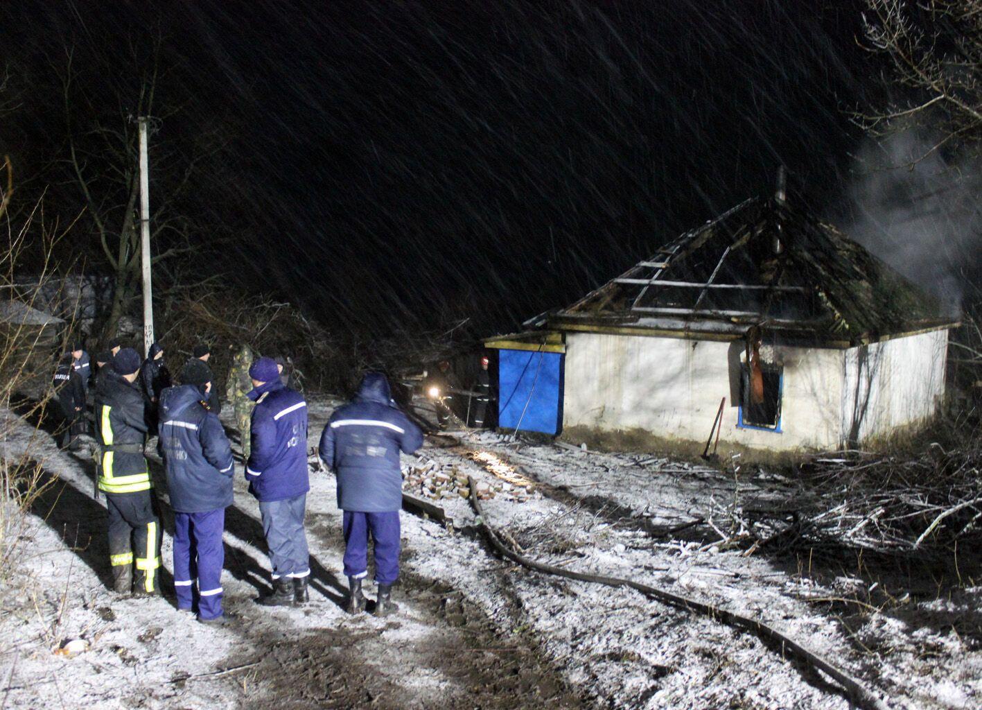 Пожежа в селі Драбівці