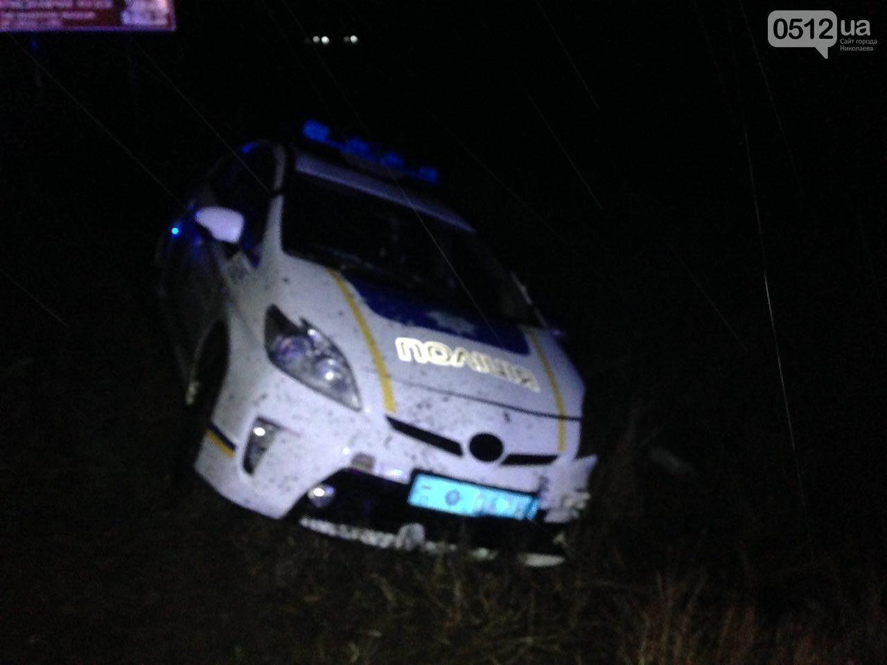 Под Николаевом полиция застрелила мужчину, взорвавшего гранату