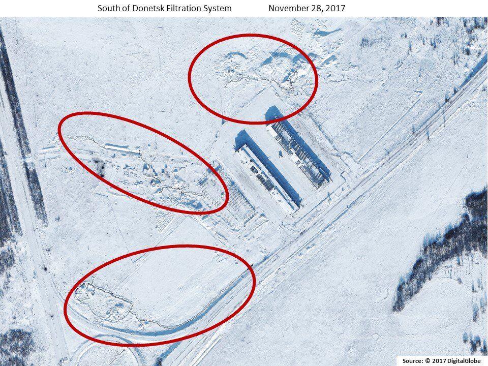 США засікли позиції найманців Путіна в Донецьку: опубліковані знімки з супутника