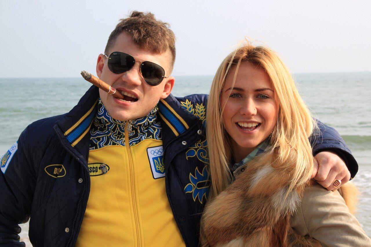 Сестра Василя Ломаченка викликала захват у мережі своєю зовнішністю