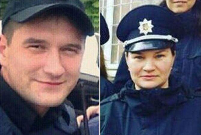 Погибшие в Днепре полицейские - Артем Кутушев и Ольга Макаренко