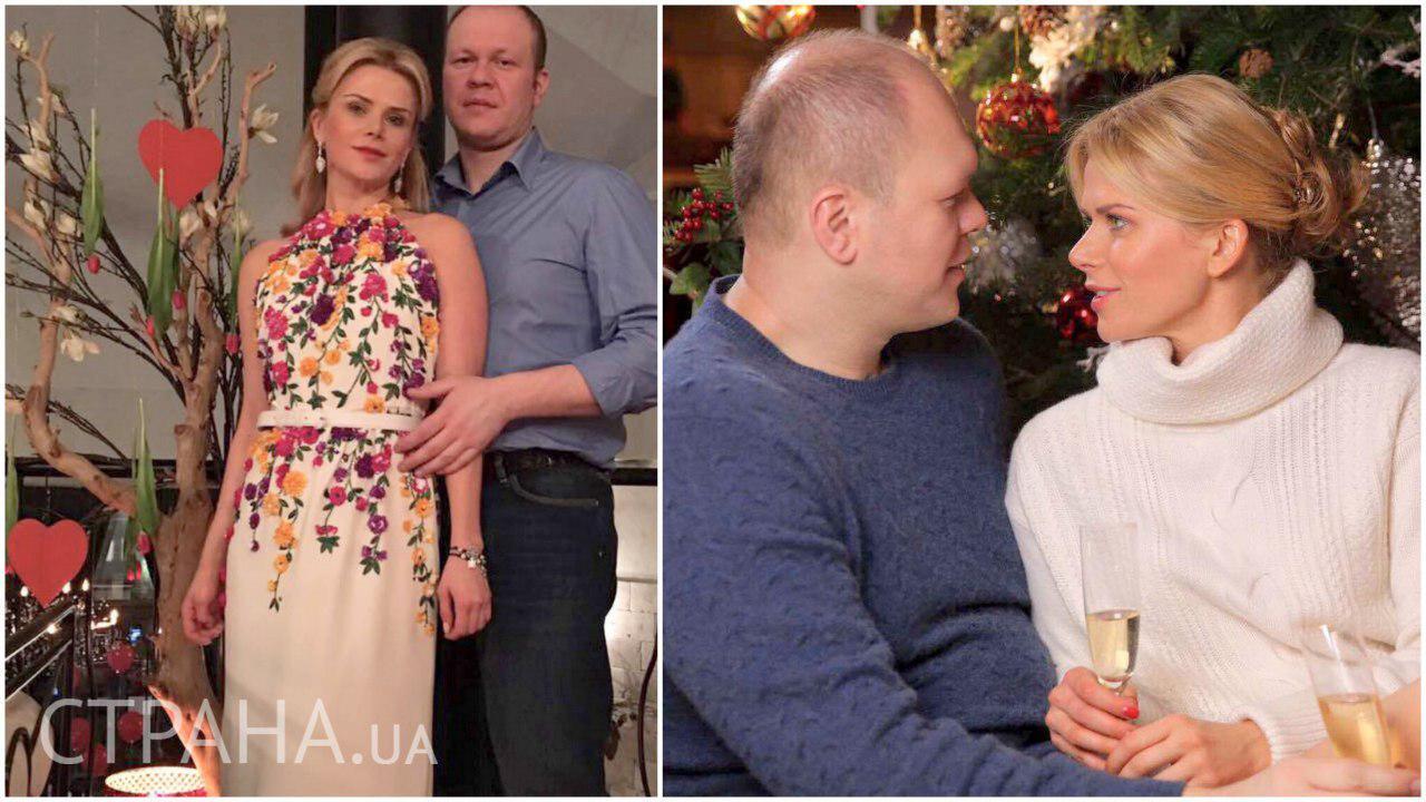 Татьяна Донец с мужем Денисом Дзензерским