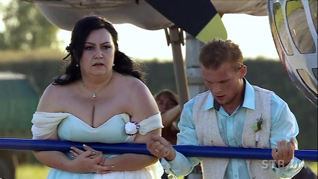 """""""Зважені та щасливі-7"""": як пари грали весілля і штовхали літак"""