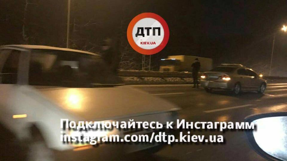 Масштабное ДТП в Киеве: столкнулись сразу 5 авто