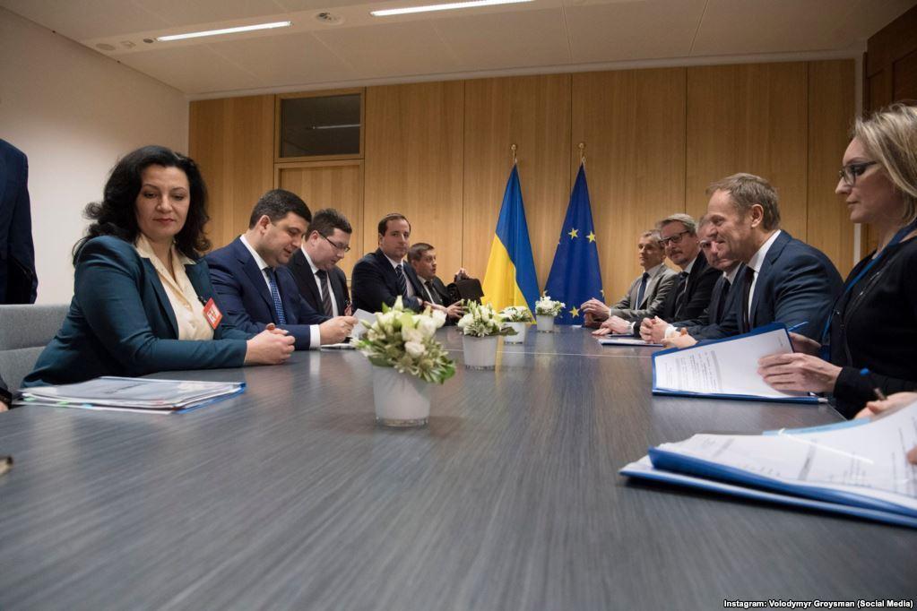 С европейскими политиками в Брюсселе