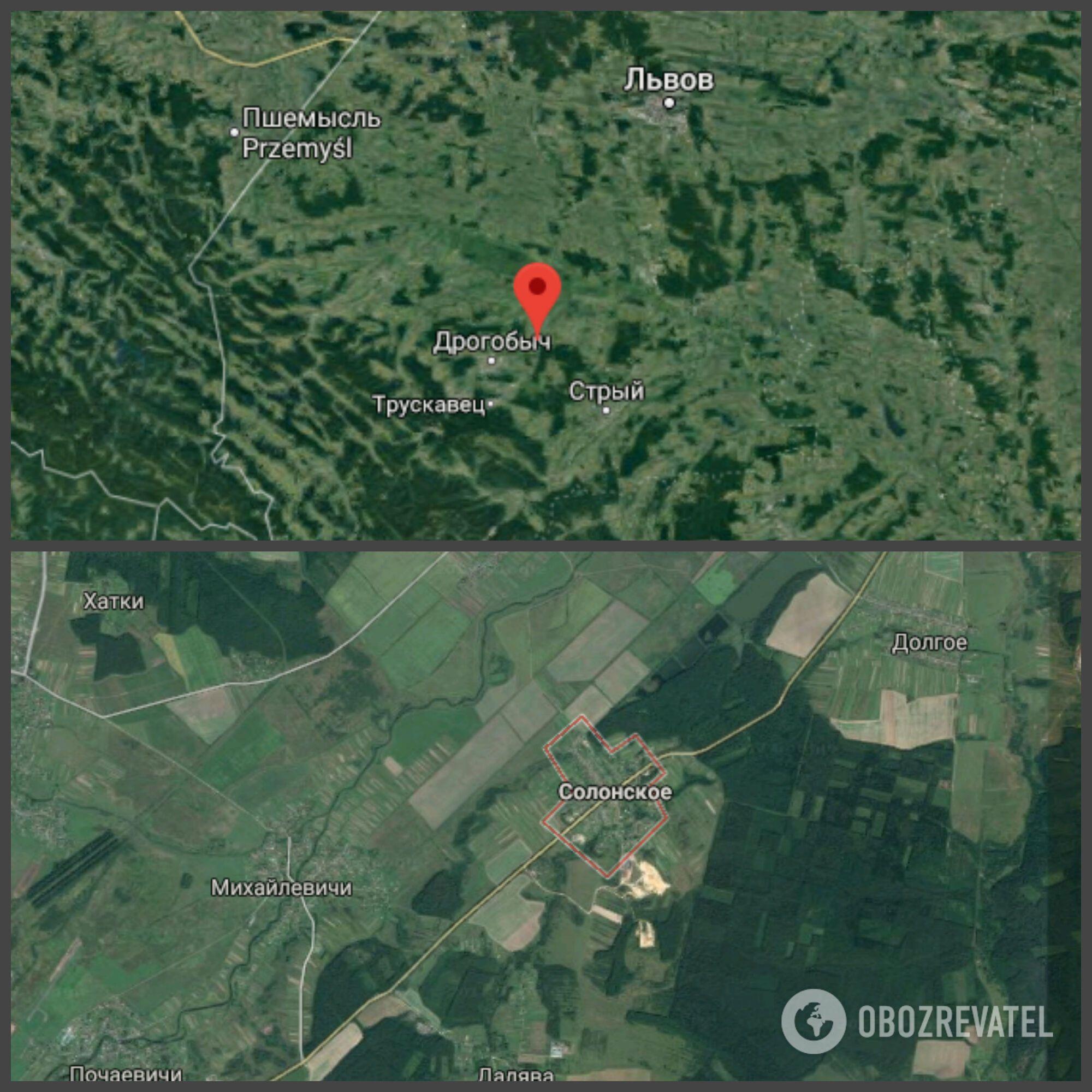 Авария произошла возле села Солонское