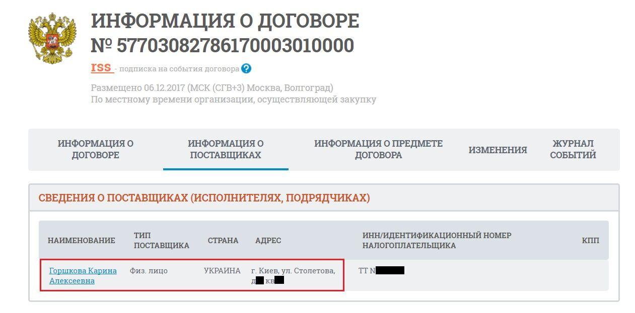 Жена украинского чиновника стала сотрудницей ведущего кремлевского СМИ